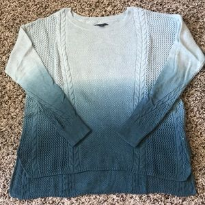 American Eagle Ombre Oversized Sweater